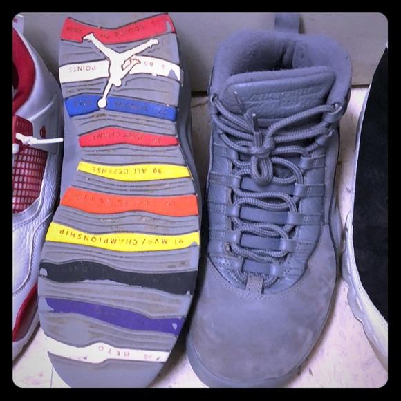 Jordan Shoes   Retro 10s Cool Grey
